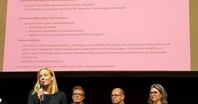 kansanedustaja Susanna Lauslahti
